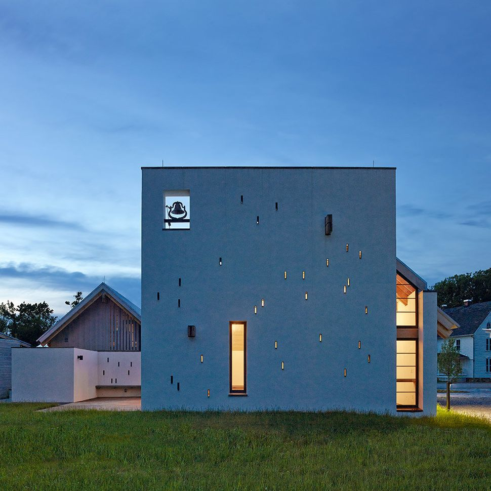 St. Ignatius Chapel at the Georgetown University <br>Bluemont, Virginia <br>Dynerman Architects, PC