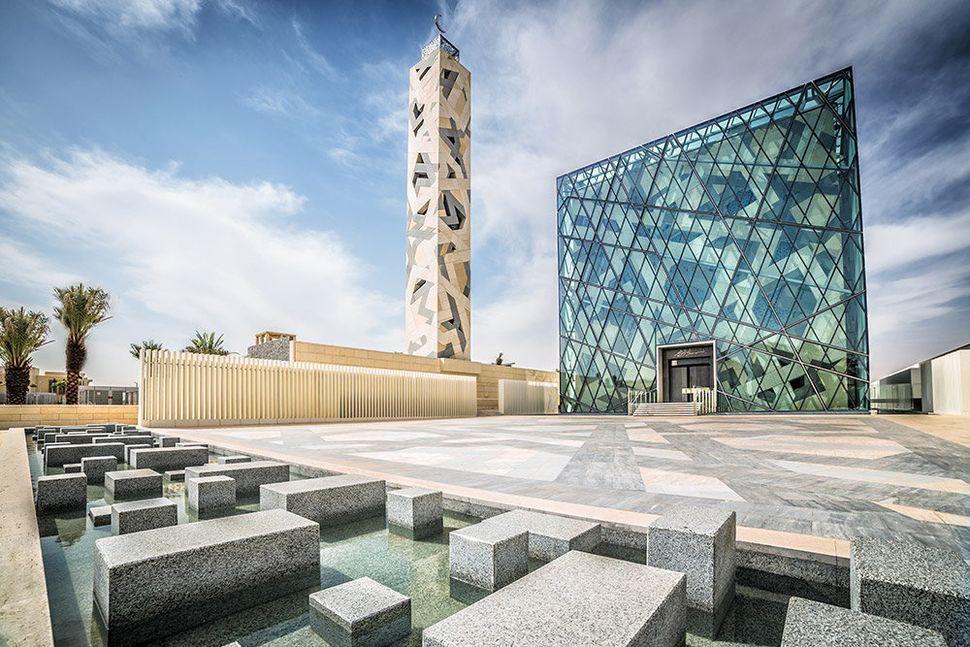 KAPSARC Community Mosque <br>Riyadh, Saudi Arabia <br>HOK
