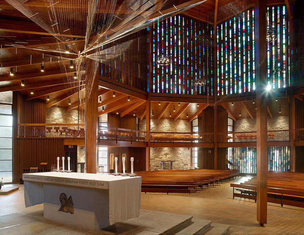 Restoration of Church of St. Gregory the Great <br>Portsmouth, Rhode Island <br>Northeast Collaborative Architects