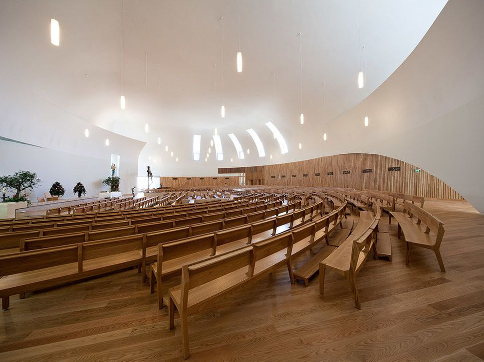 Boa Nova Church <br>Estoril, Portugal <br>Roseta Vaz Monteiro Arquitectos