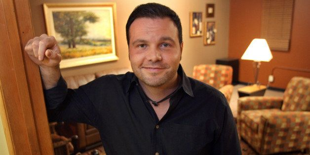 ** ADVANCE FOR FEB. 17-18 WEEKEND EDITIONS ** Mars Hill Church Lead Pastor Mark Driscoll, 36, outside of his office prior to