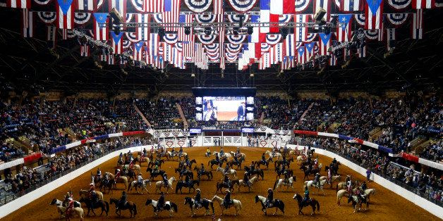 The Fort Worth Stock Show & Rodeo begins with the Grand Entry on Friday, Jan. 23, 2015, at Will Rogers Coliseum in Fort Worth