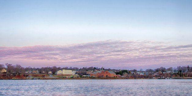 Greenwich Bay Harbor Seaport in Rhode Island