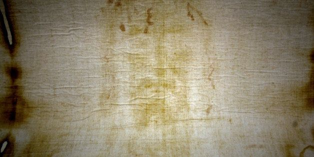 An exact copy of the Shroud of Turin, the linen cloth that wrapped the body of Jesus Christ, is displayed at the chapel of th