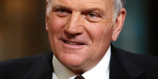 TODAY -- Pictured: Franklin Graham appears on NBC News' 'Today' show -- (Photo by: Peter Kramer/NBC/NBC NewsWire via Getty Im