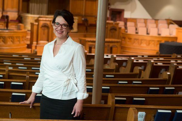 "In June 2014, Rev. Amy Butler <a href=""http://time.com/2864118/meet-riverside-churchs-first-female-pastor/"" target=""_blank"">b"