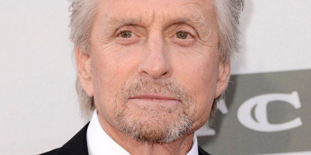 Michael Douglas arrives at the 42nd AFI Lifetime Achievement Award Tribute Gala at the Dolby Theatre on Thursday, June 5, 201