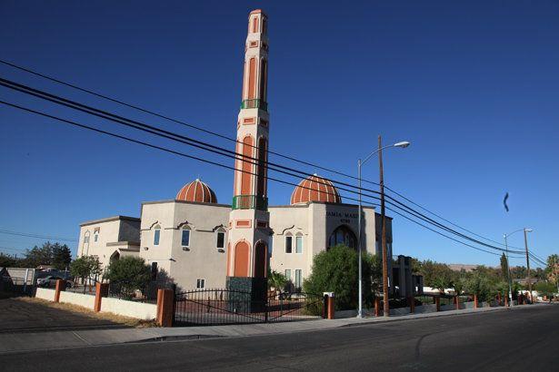 Jamia Masjid in downtown Las Vegas.