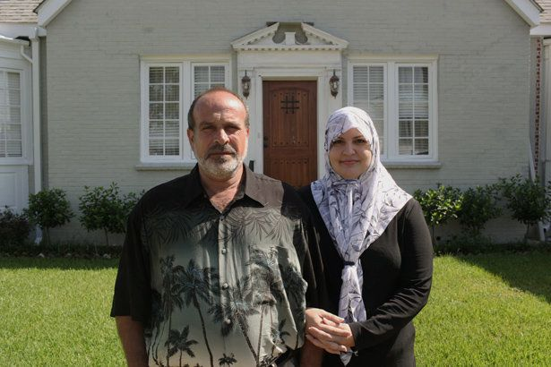 AbdulRahman Zeitoun and his wife in New Orleans.
