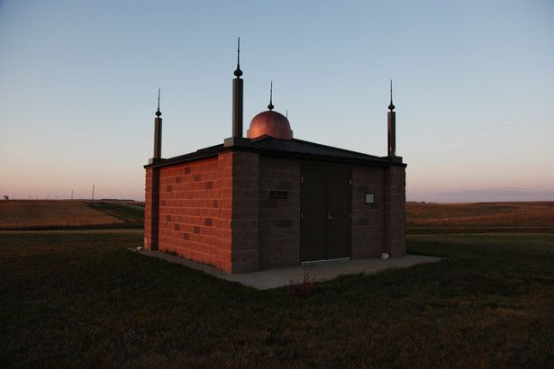 First mosque that was ever built in the United States. Ross, North Dakota.