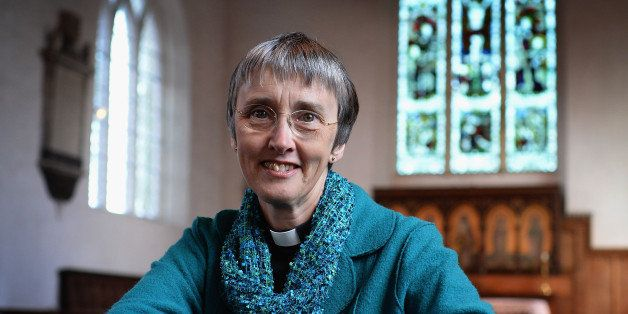 KILHAM, ENGLAND - MARCH 25: The Rev Canon Alison White, who is to become the Church of Englands second female bishop, poses f