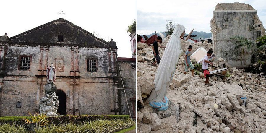 """The 2013 Bohol earthquake <a href=""""https://m2.facebook.com/notes/heritage-conservation-society/statement-of-the-heritage-cons"""