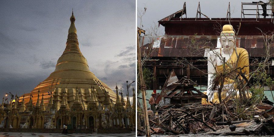 Cyclone Nargis hit Myanmar on May 2-3, 2008, devastating the Irrawaddy Delta region and killing some 84,500 people. According