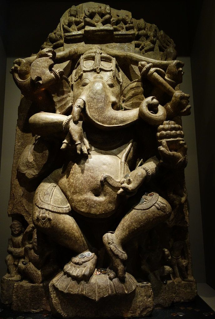 "Ganesha (11th century, Madhya Pradesh, India), sandstone  Courtesy of <a href=""http://hyperallergic.com/204185/new-york-city-"