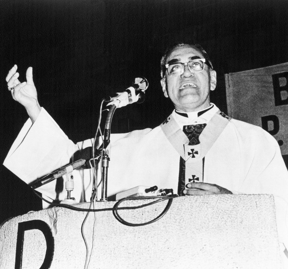 5/13/1979-San Salvador: Archbishop Oscar Arnulfe Romero calls on the International diplomatic community to put pressure on t