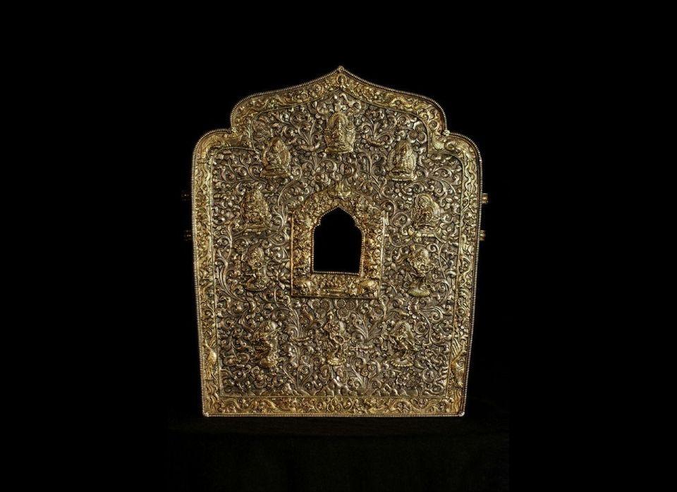 Himalayan, 19th century; metal, silver; Rubin Museum of Art, C2008.21 (HAR 57003)
