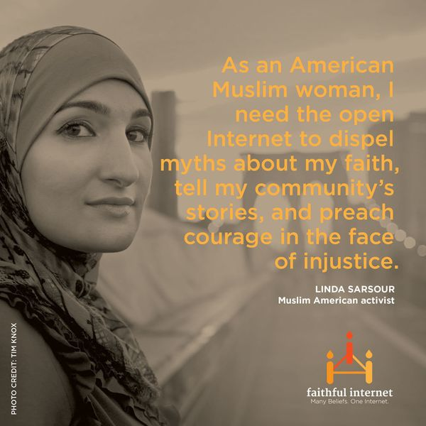 "Linda Sarsour is a Muslim community activist and executive director of the <a href=""http://www.arabamericanny.org/"" target=""_"