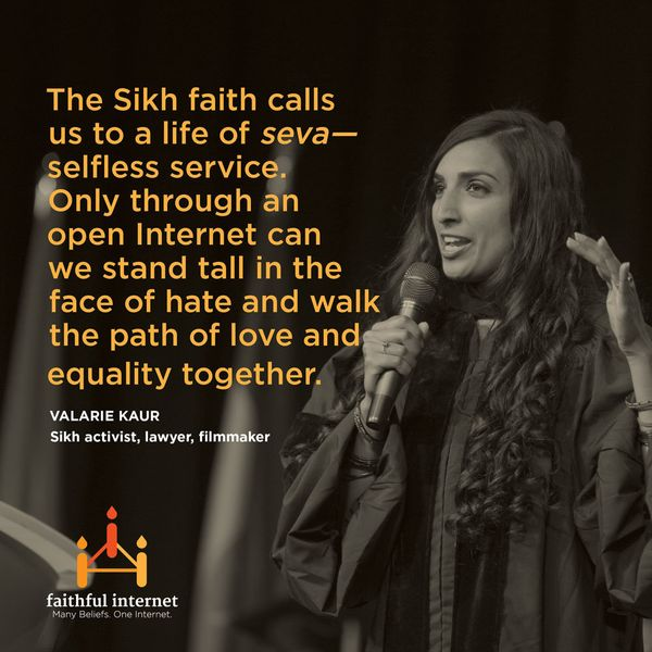 "<a href=""http://valariekaur.com/"" target=""_hplink"">Valarie Kaur </a>is a leading Sikh activist, lawyer, and filmmaker, who fo"