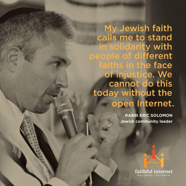 "Rabbi Eric Solomon is the spiritual leader of <a href=""https://bethmeyer.org/"" target=""_hplink"">Beth Meyer Synagogue</a> in R"