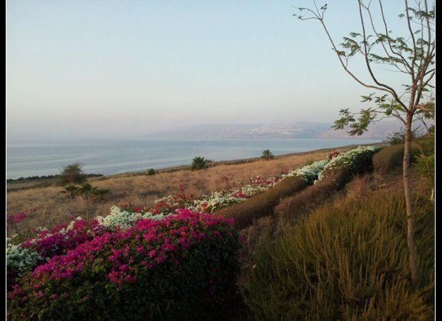Are you ready to experience God through the beauty of the natural world?<br> <br> (The Sea of Galilee, early morning.)