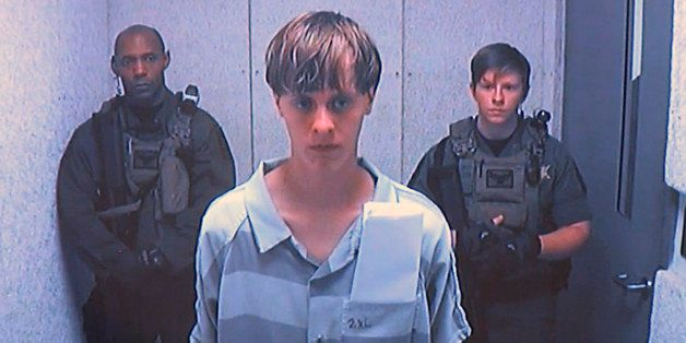 Dylann Roof appears via video before a judge in Charleston, S.C., on Friday, June 19, 2015. The 21-year-old accused of killin
