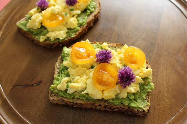 """Toast up some bread, add some avocado and eggs and enjoy! If you want to impress your family at 3 a.m. and make them think t"