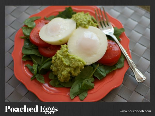 """You can't go wrong with eggs .... If poaching is too intimidating, simply scramble. Serve with your favorite fruit or whole"