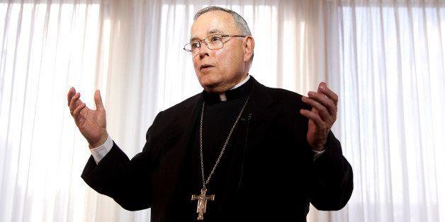 Philadelphia Archbishop Charles Chaput speaks during a news conference Monday, Nov. 24, 2014, in Philadelphia. Roman Catholic
