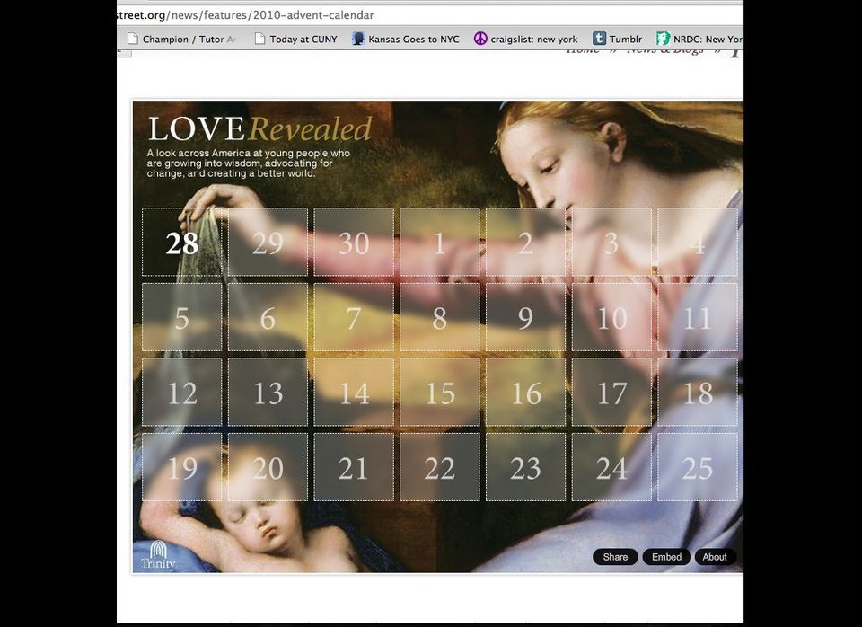 "<a href=""http://www.trinitywallstreet.org/news/features/2010-advent-calendar"" target=""_hplink"">""Love Revealed"" by Trinity Wal"