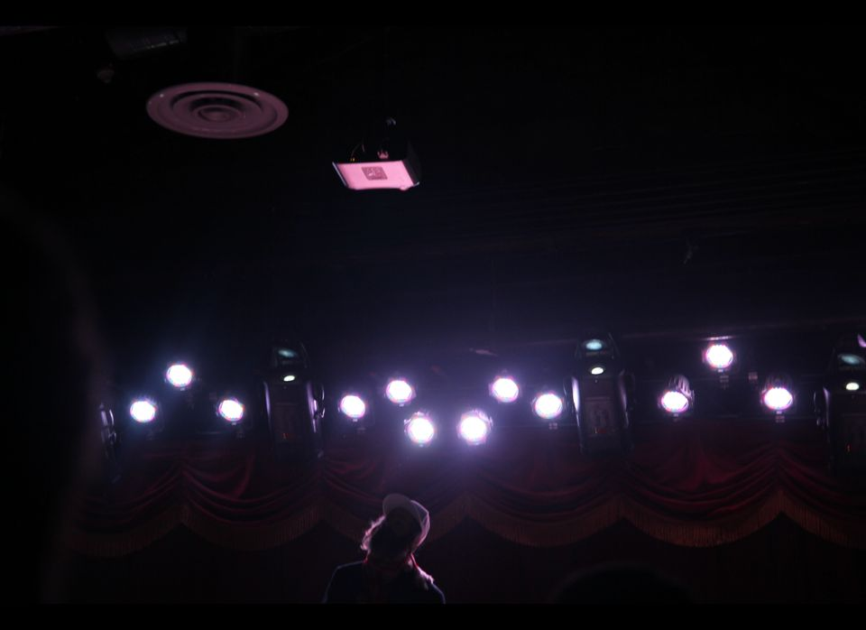 Matisyahu on stage at the Brooklyn Bowl for the opening show of his Festival of Light Hanukkah tour.