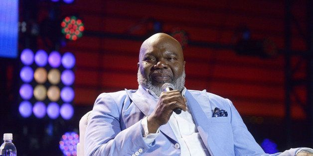 NEW ORLEANS, LA - JULY 04:  Bishop TD Jakes onstage at the 2014 Essence Music Festival on July 4, 2014 in New Orleans, Louisi