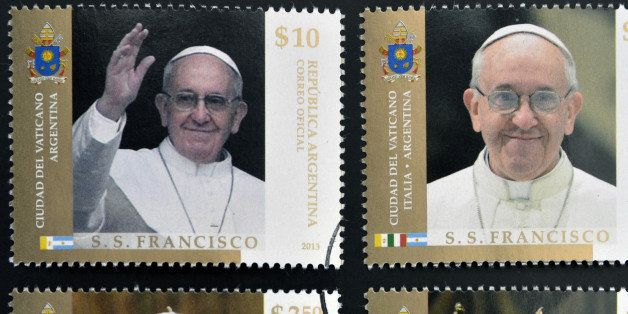 argentina   circa 2013  stamps...