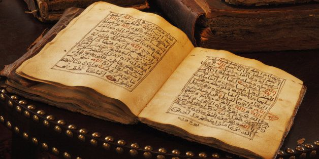 An ancient hand scripted Quran. It is regarded widely as the finest piece of literature in the Arabic language