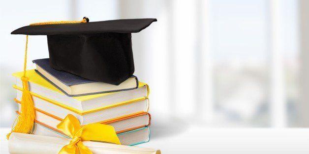 Graduation Diploma Mortar Board Book Cap Hat University