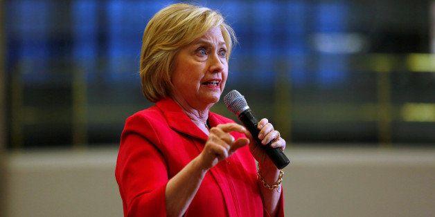 U.S. Democratic presidential candidate Hillary Clinton speaks at Transylvania University in Lexington, Kentucky, U.S., May 16