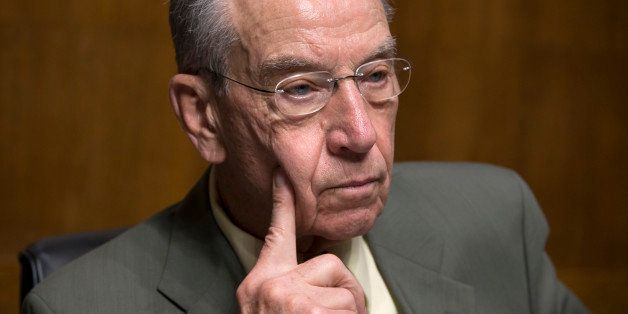 Senate Judiciary Committee Chairman Chuck Grassley, R-Iowa, whose panel is responsible for vetting judicial appointments, hol