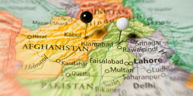 Travel Map Of Afghanistan Kabul Kandahar Lahore