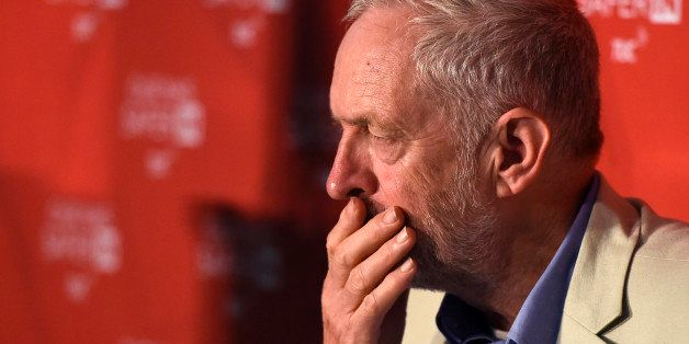 Britain's opposition Labour Party's leader Jeremy Corbyn attends an event in support of remaining in the European Union, in c