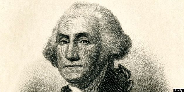 Engraving From 1884 Featuring The First American President, George Washington.  Washington Lived From 1732 Until 1799.