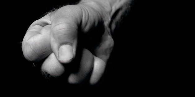 Close up of mans fist