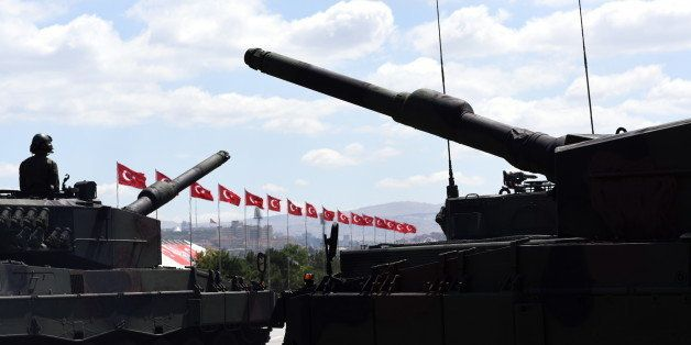 Armored military tanks - Turkish army