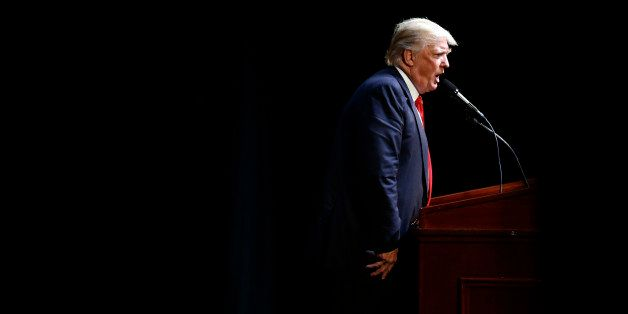 Republican Presidential candidate Donald Trump speaks at a rally in Raleigh, N.C., Tuesday, July 5, 2016. (AP Photo/Gerry Bro