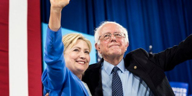 PORTSMOUTH, NH -  Democratic Presumptive Nominee for President former Secretary of State Hillary Clinton attends a rally with