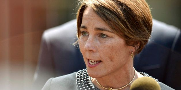 Massachusetts Attorney General Maura Healey speaks about gun violence prevention at the White House in Washington, U.S., May