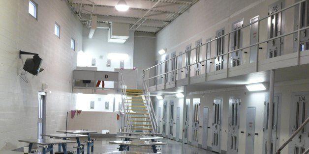 NBC NEWS -- Pictured: Inside Val Verde Correctional Facility, an 875 bed private prison holding both men and women in separat