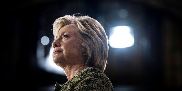 PHILADELPHIA, PA - Democratic Nominee for President of the United States former Secretary of State Hillary Clinton speaks to