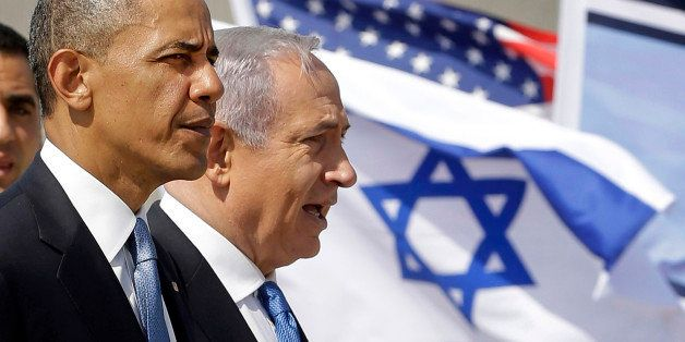 FILE - In this Wednesday, March 20, 2013 file photo, U.S. President Barack Obama and Israeli Prime Minister Benjamin Netanyah