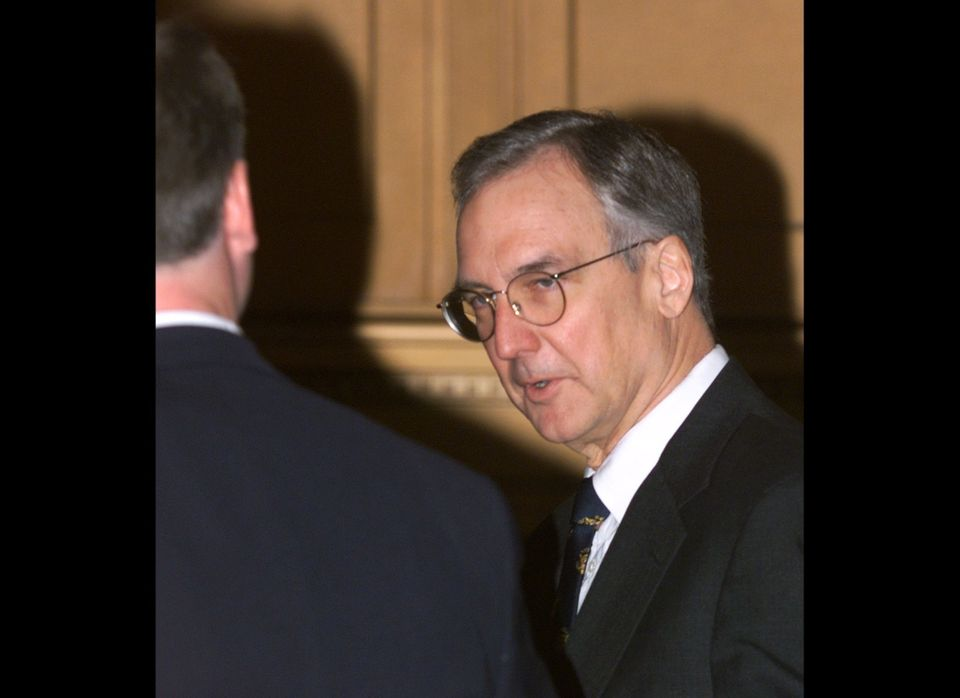 Bob Livingston (R-La.), the former congressman chosen to succeed Newt Gingrich when Gingrich stepped down as House speaker, b