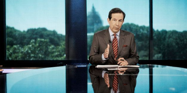 WASHINGTON, DC - JULY 23: Chris Wallace, host of Fox News Sunday, seen on the set of his show at the Fox offices near Capitol