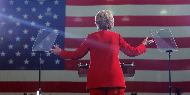 U.S. Democratic presidential nominee Hillary Clinton speaks at a campaign rally at Kent State University in Kent, Ohio, U.S.